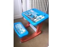 Thomas the Tank Engine Childs Table and Seat