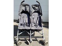 McLaren double pushchair