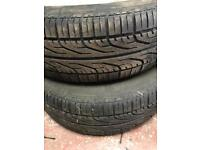 Full set of wheels and alloys, mk5 , Peugeot, 206 106 alloys, wheels