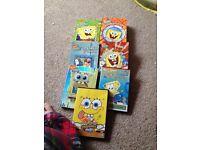 sponge bob dvds