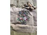 Italian Wool Tapestry with yarns