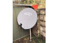 Satellite Dish - Quad LNB