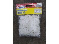 Tile spacers, 13 packs.