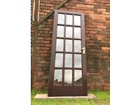 Double Glazed, Hardwood Exterior Door