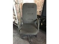 Used office chair High back gas lift Charcoal with tilt Kendall very comfort