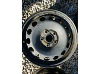 VW ( AUDI SEAT SKODA) 16 STEEL WHEELS