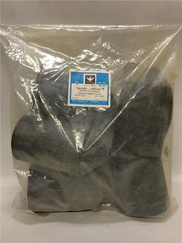 """(Pack of 5) Ideal 46-387 Thermo-Shrink 5"""" Length 3"""" I.D. Heat Shrink End Cap"""