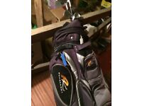 2set of golf club with bag