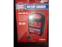 Battery charger 6v/ 12v