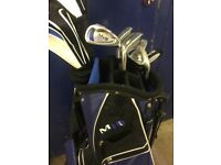 Golf Clubs and Stand Bag For Sale