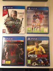 PS 4 Games Bundle