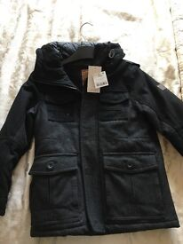 BNWT aged 7 next boys coat