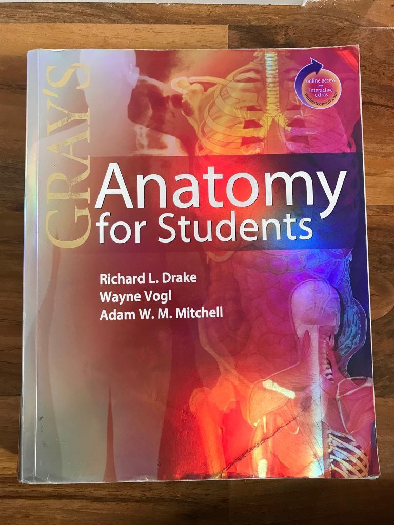 Anatomy for Students, by Richard L. Drake, Wayne Vogl and Adam W.M. ...