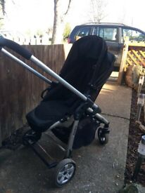 iCandy pram & carry cot with extras
