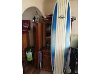 7ft 9inch Mini Mal Surfboard with Billabong Wetsuit and Rhino board bag included