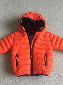 Next padded warm jacket, 9-12 months.