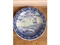 Boch Blue Delfts porcelain plate