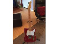 Telecaster type guitar