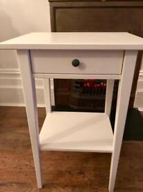 IKEA Hemnes White Bedside Table - Excellent Condition