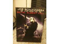 joe bonamassa live from the albert hall. dvds .