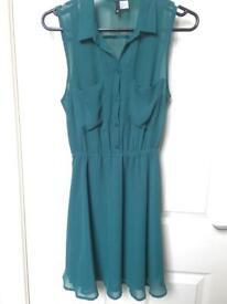 H & M Green Dress