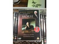 Morse collection of DVDs