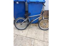 "Bmx bike 20"" wheels with full gyro"