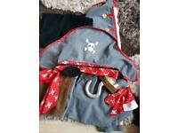 Pirate dressing up costume age 8 to 10