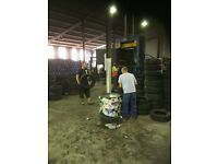 Tyre collector