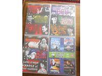 4 Sci-fi Horror DVDs