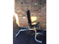 Body Solid Adjustable Weights Bench - GFID31 (one pad missing) RRP: £230