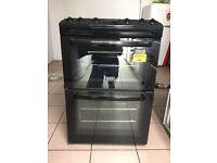 Zanussi gas cooker 60cm black FSD double oven FSD 3 months warranty !!!!!!!!