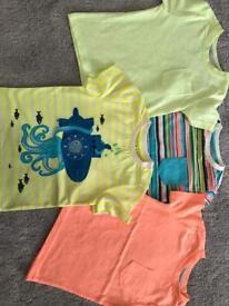 Boys swimming shorts and t-shirt