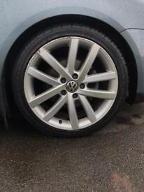 5x112 VW Vancouver alloy wheels - genuine vw, for Jetta, golf, leon, passat, scirocco etc
