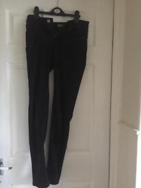 Size 6 Skinny black jeans