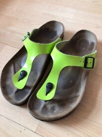 Ladies Birkenstocks Gizeh Sandals Size 9 / 42 VGC!