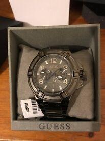 Half Price Guess Men's Quartz Watch Rigor (Tiesto) W0041G1