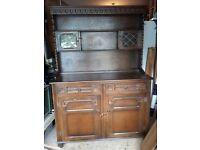 Oak Dresser - Old Charm Style