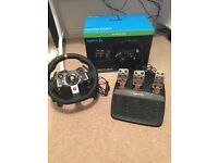Logitech G920 wheel and pedals (Xbox one)
