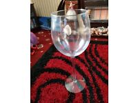 Extra Large Wine Glass or Vase Ornament