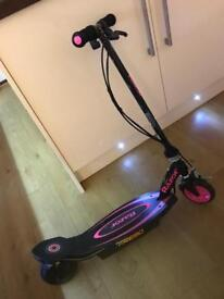 Girls electric scooter