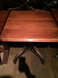 Solid wood table to sale
