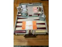 Backgammon and bridge set