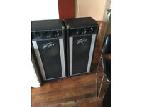 Peavey high frequency speakers + amp Inter m Pam 120