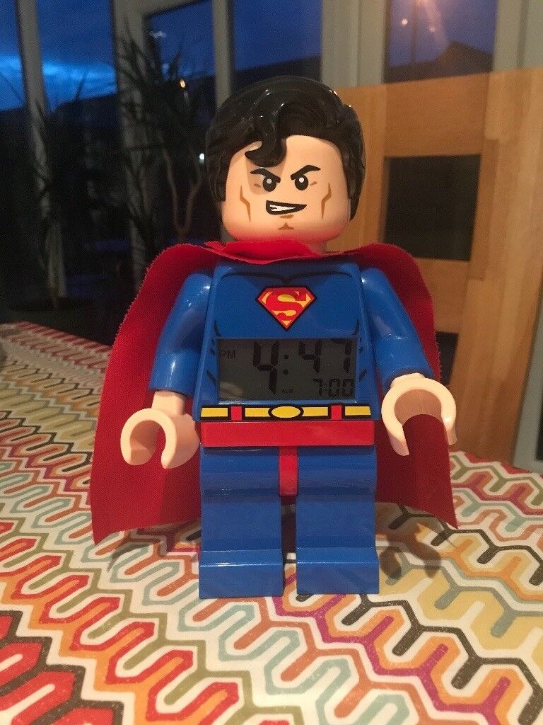 Kids Superman Alarm clock