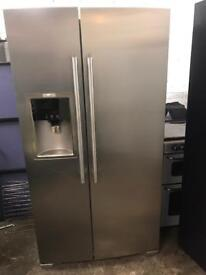 AEG fridge freezer with water dispenser