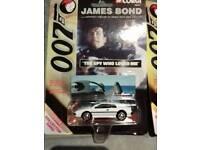 2 collectible James Bond Corgi cars