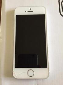 Iphone 5s white ee/virgin
