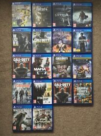 BRAND NEW CONDITION PS4 GAMES