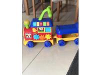 Kids choo choo train/ Walker